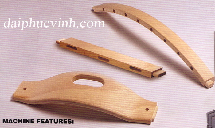 Video máy chế biến gỗ - mộng oval dương 3293