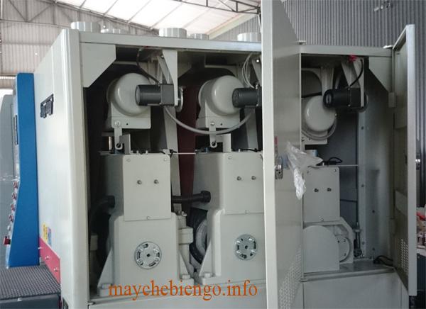 Máy chà nhám thùng 610mm 3 trục tải nặng 113