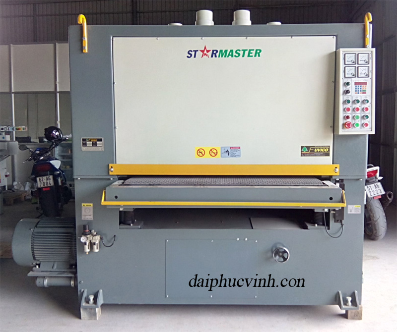 Video máy chà nhám thùng 3 trục starmaster