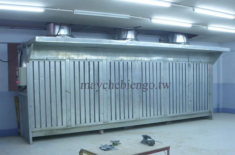 Video buồng thu bụi chà nhám cực sạch, tháp thu bụi sơn khô