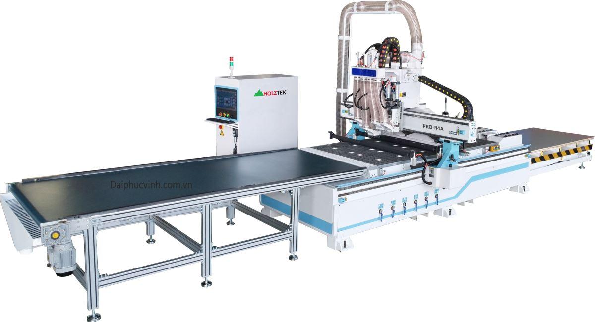 MÁY PHAY CNC NESTING 4 ĐẦU FULL LINE PRO-R4A