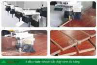 MÁY PHAY CNC NESTING 4 ĐẦU FULL LINE PRO-R4A 1430