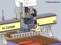MÁY CNC TRUNG TÂM 2.5D KHOAN 5 MẶT HT-1325RB 1012