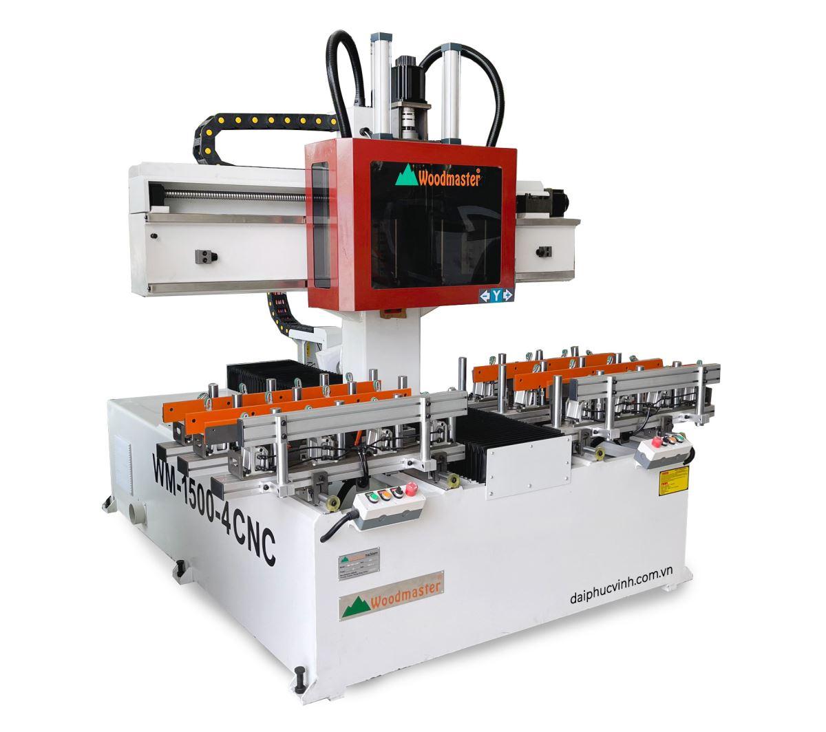 Video máy làm mộng âm cnc Woodmaster 1125