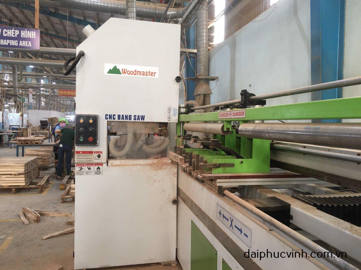MÁY CƯA LỌNG CNC 1500mm Woodmaster 1495