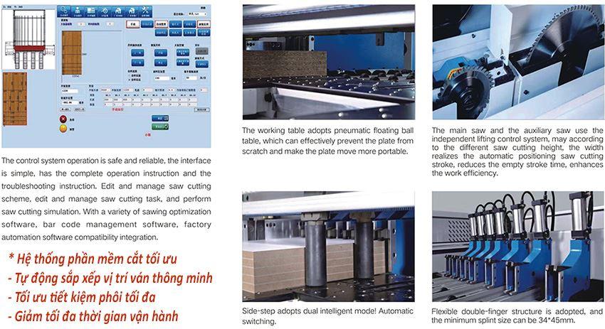 MÁY CƯA PANEL SAW CNC OPTIMIZE TECTRA 328 ( CÓ PHẦN MỀM CẮT TỐI ƯU ) 595