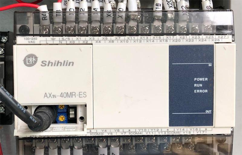 Máy nhám thùng 610mm 2 trục cũ 741