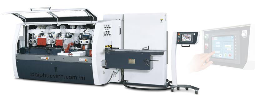 Máy bào 4 mặt 6 trục siêu tốc ( tiêu chuẩn châu Âu )