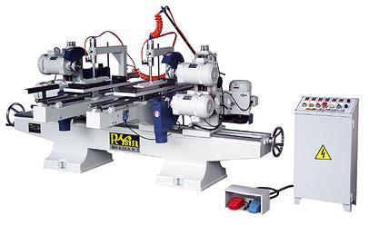 Máy cắt phay 2 đầu 6 trục tự động 1800mm