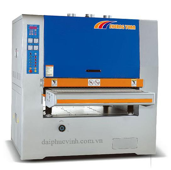 Máy chà nhám thùng 1m3 2 trục ( bàn điện tử )