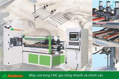 MÁY CƯA LỌNG CNC 2500mm Woodmaster