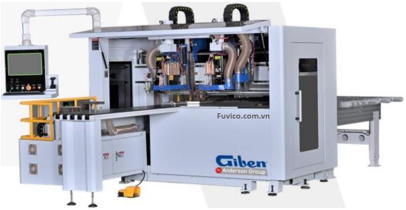 MÁY KHOAN CNC 6 MẶT 2 TRỤC GIBEN ANDERSON SKYKER - 6SD2