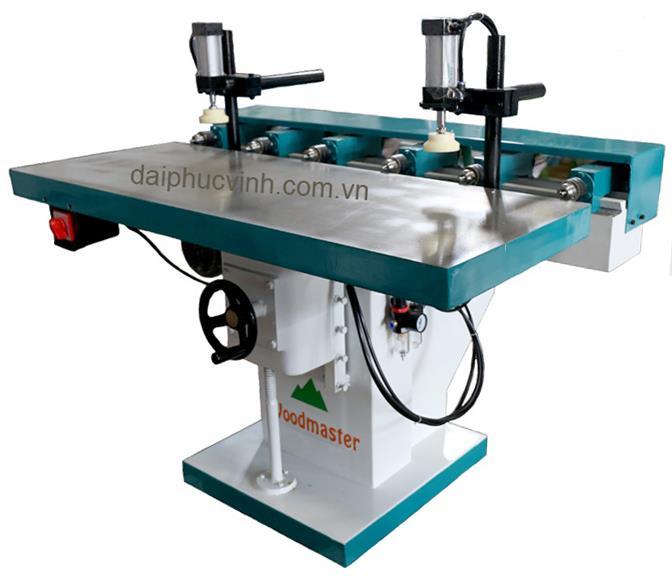 Máy khoan ngang 6 đầu ( horizontal drilling machine )