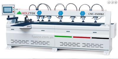 MÁY KHOAN NGANG CNC 2 ĐẦU 2500MM CNC-2500B2