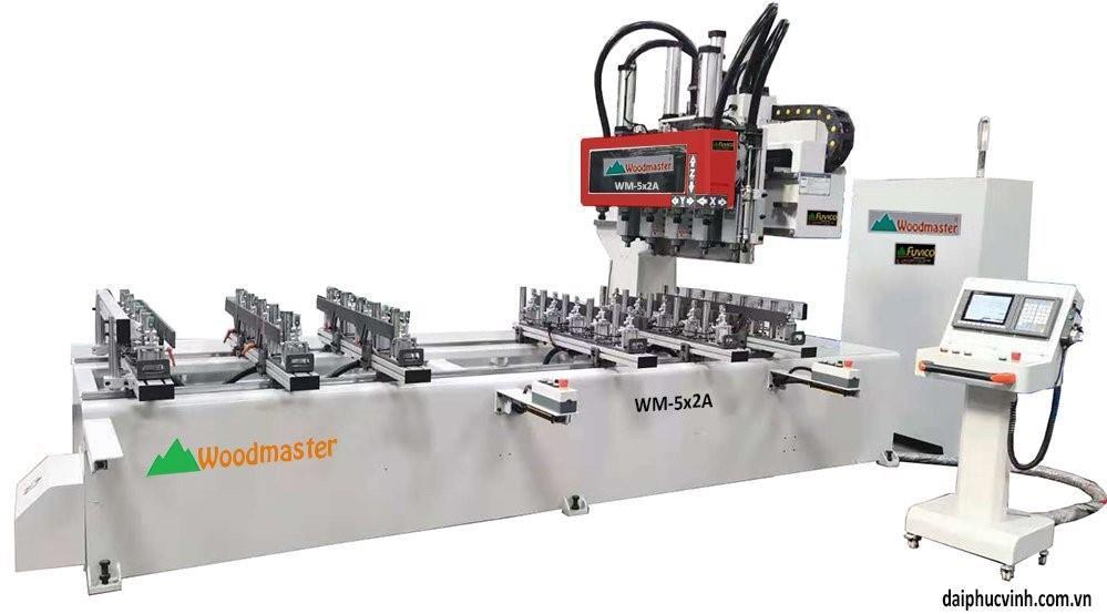 MÁY PHAY MỘNG ÂM CNC 10 ĐẦU 3200MM WM-5x2A