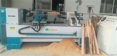 Máy tiện gỗ CNC 2 trục nạp phôi tự động WM-1500A2